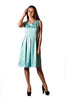 Платье летнее бирюзового цвета
