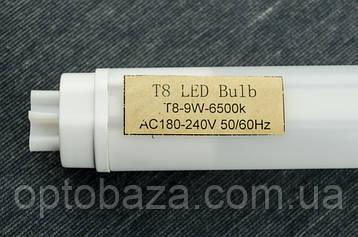 LED лампа-трубка T8 60 см 9 Вт 6500К пластик, фото 2
