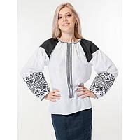 Женская блузка вышитая под заказ «Сокальська вишивка» размеров   42