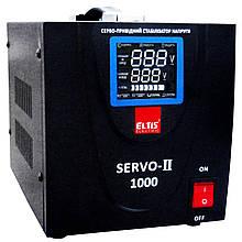 Однофазный сервоприводный стабилизатор напряжения Элтис SERVO-II-SVC-1000VA LED