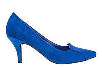 Туфли женские Andres Machado 5079SERPIENTE синие