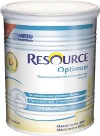 Специальное питание Nestle Resource Optimum, 400 г