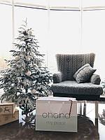 Кресло Ohaina с подлокотниками цвет сталь, фото 1