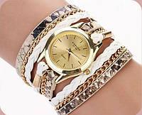 Часы-браслет с длинным  ремешком