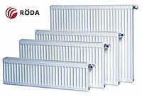 Радіатор Rӧda стальний панельний боковий тип підключення 22 разм 500х600