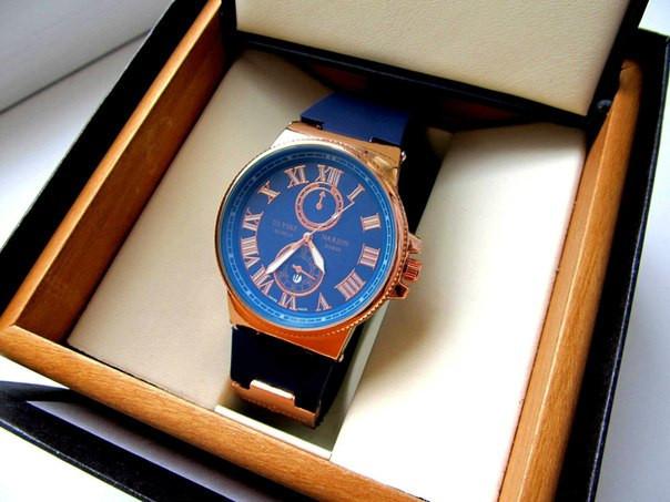 Кварцевые мужские часы Ulysse Nardin копия