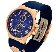 Кварцевые мужские часы Ulysse Nardin копия, фото 2