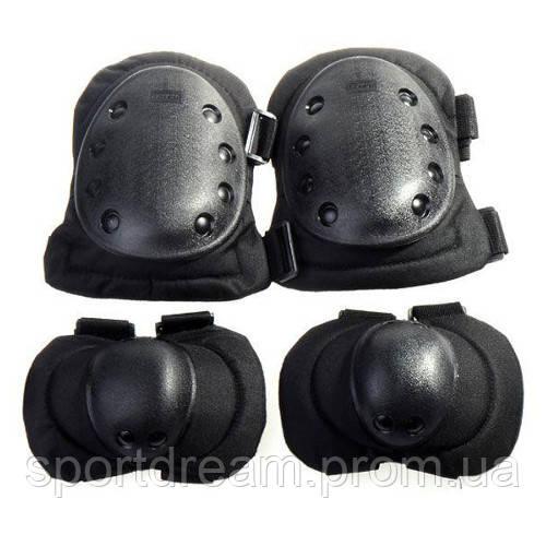 Защита тактическая наколенники и налокотники BC-4039-BK - Интернет магазин «Sport2u» в Днепре