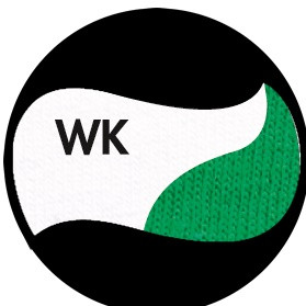 Цвет комбинированный  - Белый/Ярко-зелёный
