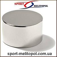 Неодимовый магнит 20Х1 мм сила 1.4 кг