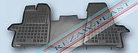 Коврики резиновые модельные Ford Transit Custom 2012- Форд транзит (1шт) Rezaw-Plast 200617