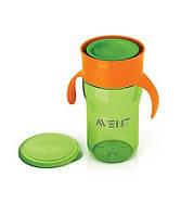 Чашка с клапаном Philips Avent,(18мес) зеленая, 340 мл SCF784/00