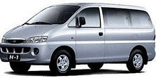 Защита двигателя на Hyundai H1 (1997-2007)