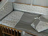 Детское постельное белье в кроватку + Конверт-одеяло на выписку.