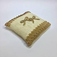 Подушка для обручальных колец №5.