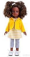 Кукла Paola Reina Нора в желтом 32 см