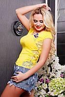 Кофта Гульшат желтый 42-50 размеры