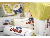 Универсальные плиты URSA Теплозвукоизоляция 1250*600*100 мм. 4,5 м.кв.