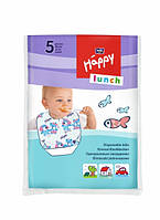 Одноразовые нагрудники Bella Baby Happy Lunch, 5 шт.