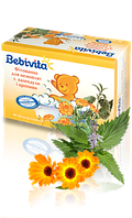 Фитованна для малышей Bebivita из календулы и крапивы, 40х1.5 г