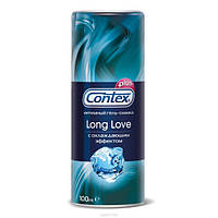Гель-смазка Сontex Long Love с охлаждающим эффектом, 100 мл