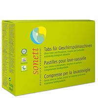 Органические таблетки для посудомоечных машин Sonett, 25 шт.