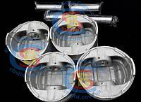 Поршень двигателя с пальцем 1004015-E00 Great Wall Pegasus 2.2 TOYOTA 491Q (оригинал) 4шт./комплект