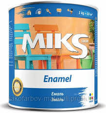 Емаль алкідна Мікс (2.8кг)