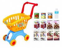 Игрушка PlayGo Тележка для супермаркета с набором продуктов