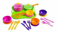 Столовый набор посуды Tigres Ромашка, 25 элементов