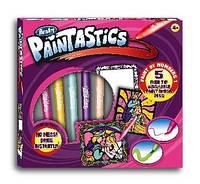 Набор для рисования RenArt Paintastics Волшебное королевство, 5 фломастеров+10 картин+2 рамки