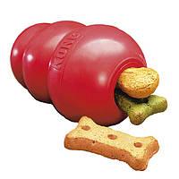 Игрушка для собаки KONG CLASSIC S (7 см) - для собак весом до 9 кг
