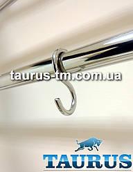 Крючки нержавеющие S-формы для полотенцесушителей под круглую трубу