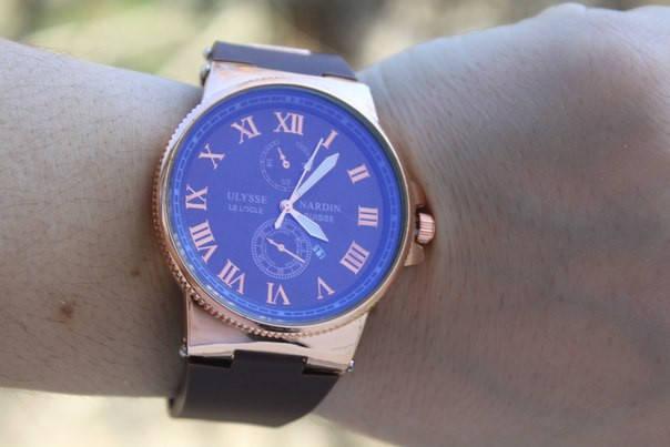 Мужские наручные часы Ulysse Nardin копия, фото 2