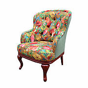 """Классическое мягкое кресло """"Соло"""" (74 см)"""
