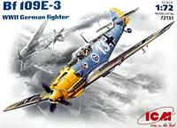 Messerschmitt Bf 109E-3 1/72 ICM 72131