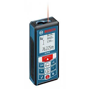 Лазерный дальномер BOSCH GLM 80   06159940A1, фото 2