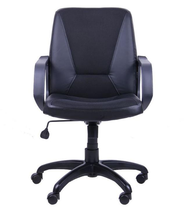 Кресло Лига Пластик Неаполь N-20 вставка Сетка черная (фото 4)