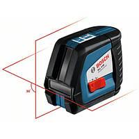 Линейный лазерный нивелир (построитель плоскостей) Bosch GLL 2-50 + вкладка под L-Boxx 0601063104