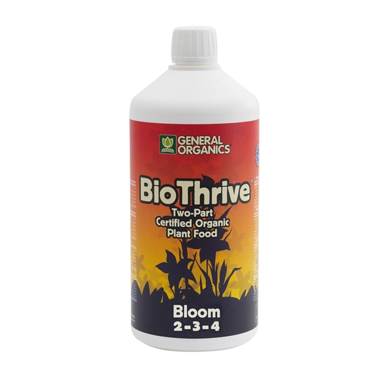 GHE BioThrive Bloom 1L Органическое удобрение для гидропоники и органического выращивания. Оригинал. Франция.