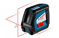 Линейный Лазерный нивелир (построитель плоскостей) Bosch GLL 2-50 + BM1 (новый) + LR2 в L-Boxx 0601063109 0601063109