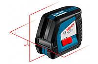 Линейный Лазерный нивелир (построитель плоскостей) Bosch GLL 2-50 + BM1 (новый) + LR2 в L-Boxx 0601063109