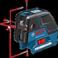 Комби-лазер (линейный + точечный) Bosch GCL 25 + BM1(новый) в L-Boxx 136 0601066B03