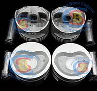 Поршень двигателя с пальцем 1004015-E00 Great Wall Deer 2.2 TOYOTA 491Q (оригинал) 4шт./комплект