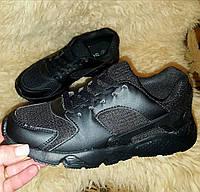 Кроссовки черные копия известного бренда
