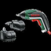 Аккумуляторная отвертка Bosch IXO Full NEW (Комплект — эксцентриковая + угловая насадка) 06039A8022