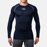 Компрессионная футболка Peresvit Air Motion Compression Long Sleeve T-Shirt Black Grey