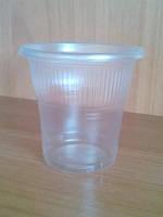 Одноразовый стакан полипропиленовый 170 мл прозрачный