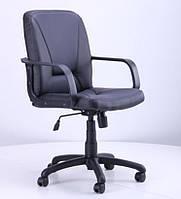 Кресло Лига PL Пластик К/з со вставкой сеткой