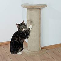 Когтеточка Trixie Lorca Scratching Column для кошек угловая, 37 х 27 х 75 см